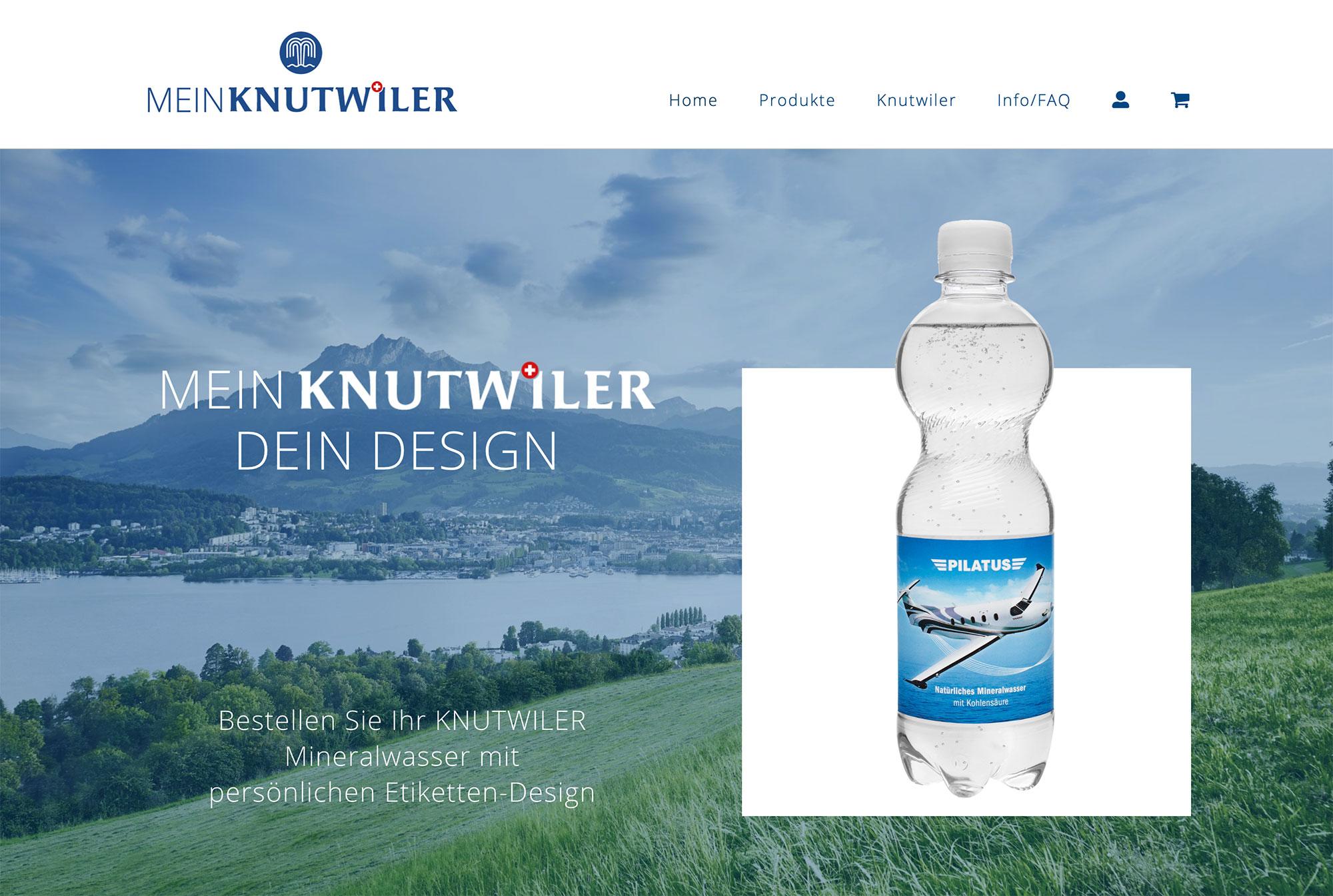 Conseo Portfolio | Mein Knutwiler, Onlineshop
