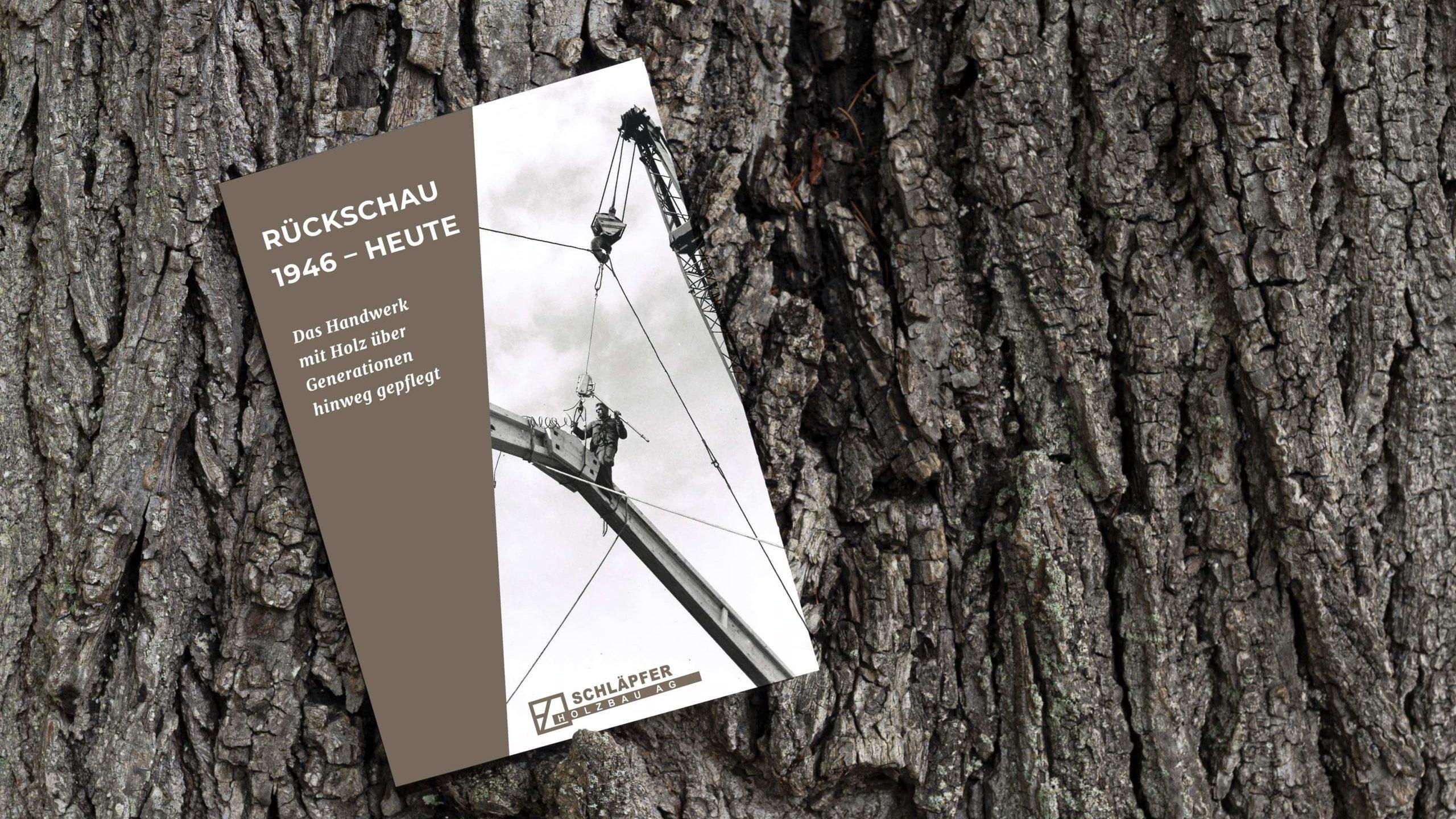 Portfolio | Broschüre | Schläpfer Holzbau