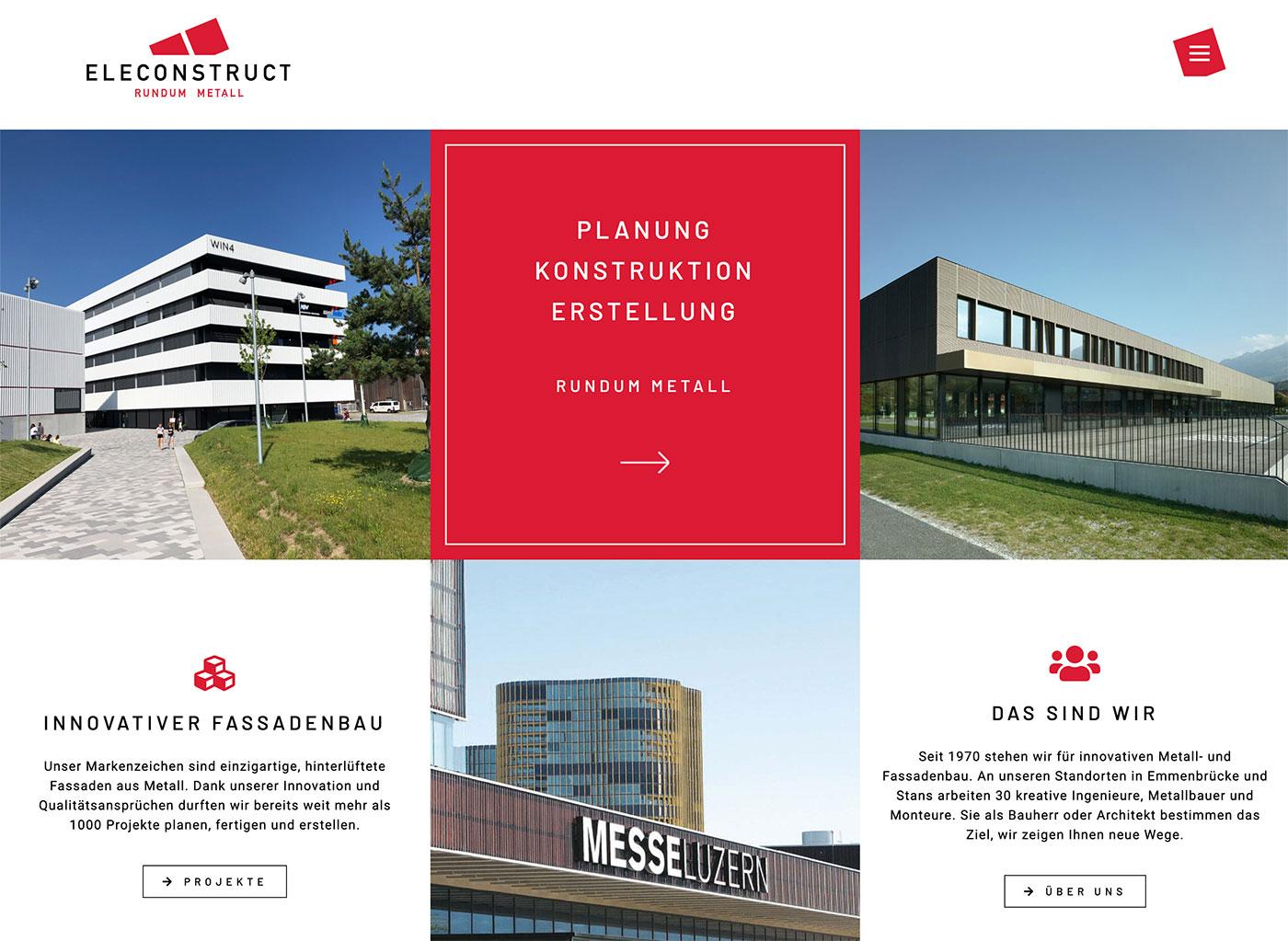 Portfolio | Website Eleconstruct