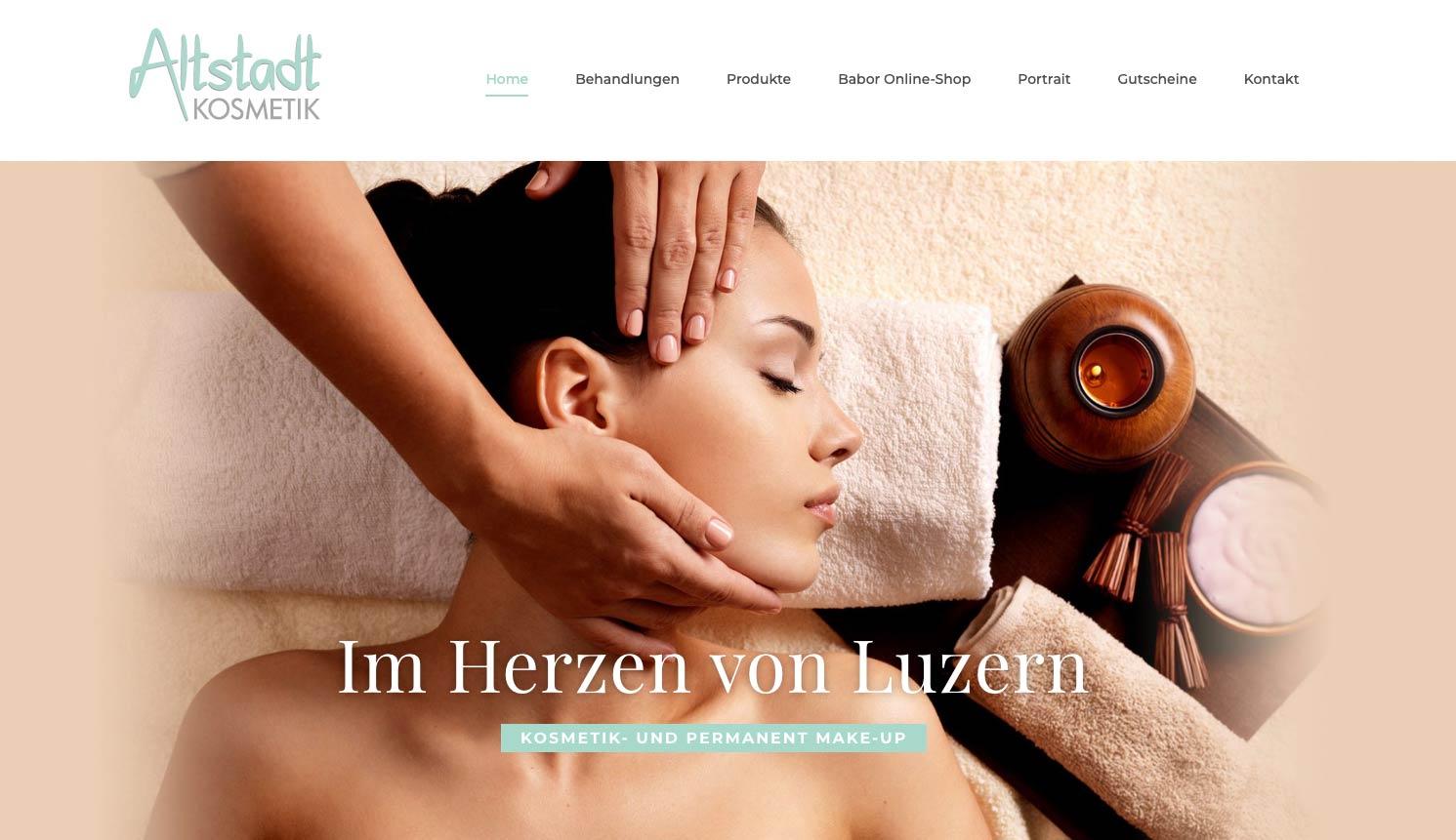 Portfolio Conseo | Altstadt Kosmetik Luzern